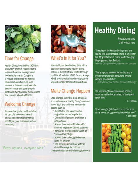 restaurant brochure template   templates