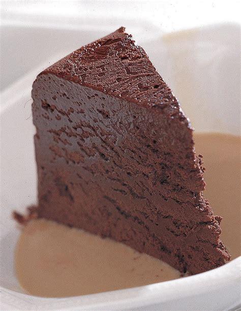 marquise en cuisine marquise au chocolat crème anglaise au café pour 6