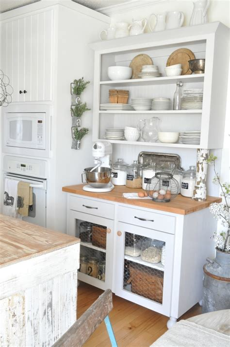 cottage style living room rustic white kitchen pictures