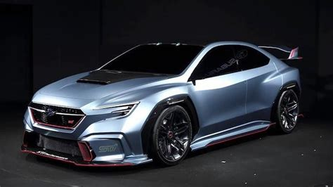 subaru wrx sti 2020 concept subaru viziv performance sti concept breaks cover in tokyo