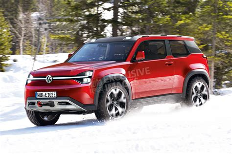 vw  electric land rover defender rival plans
