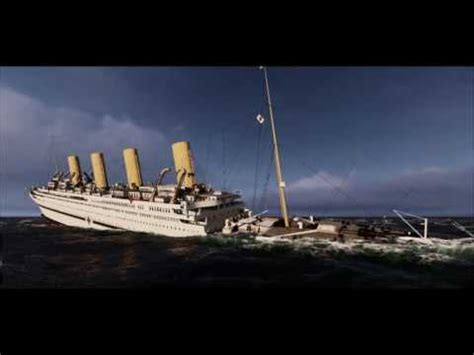 britannic sinking in real time vote no on hmhs britannic sinks real time