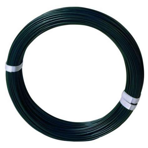 fil de tension pour grillage 100m vert