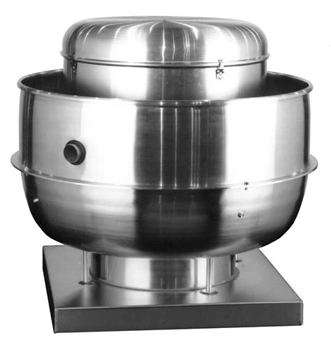 loren cook rb upblast range hood exhaust fan  cfm
