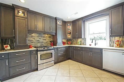 Glazed Stone Grey  Ready To Assemble Kitchen Cabinets