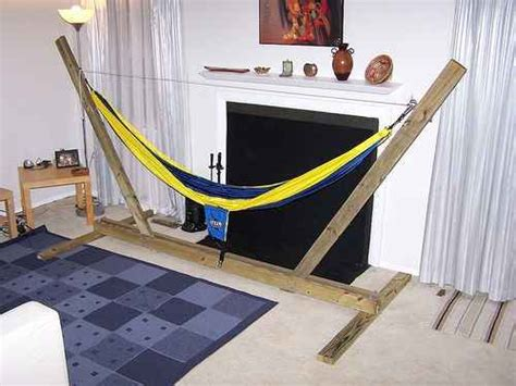How To Make Your Own Hammock Stand by 18 Diy Hammocks And Hammock Stands For Total Relaxation
