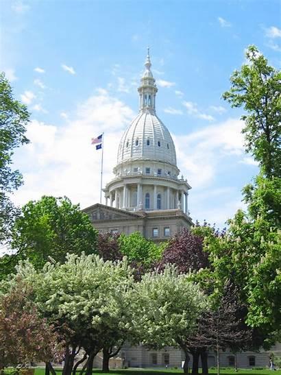 Michigan Senate Spring State Winter Dome Fall