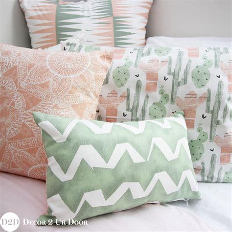throw pillow inserts green cactus pillow pile decor 2 ur door