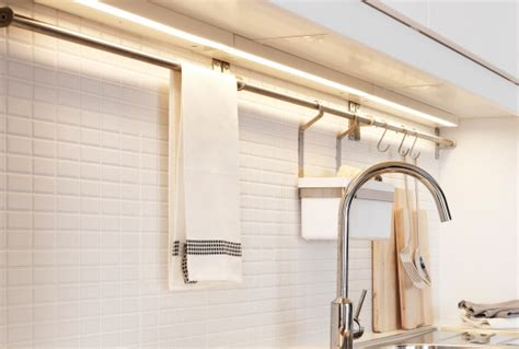 駘駑ents muraux cuisine luminaires cuisine éclairage intégré cuisine ikea