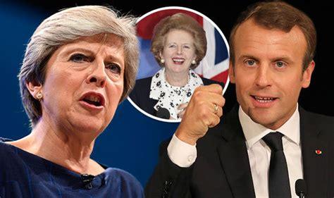 france demands uk pays brexit bill  thatcher quote world news expresscouk