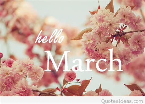 March Hd Picture by Hello March Wallpaper Hd 2016