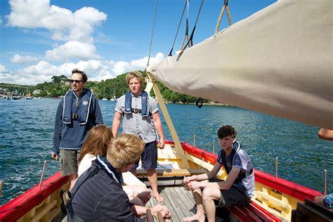 Boat Trip Cornwall by Coastal Boat Trips Sea Cruises Polruan Fowey Cornwall