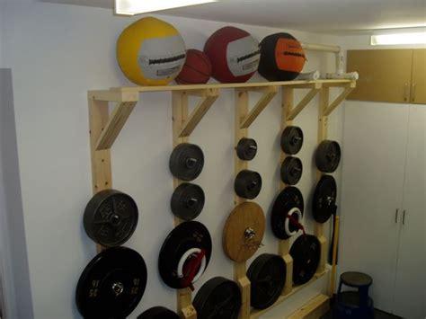 diy plate treerack diy home gym  equipment workout  home gym