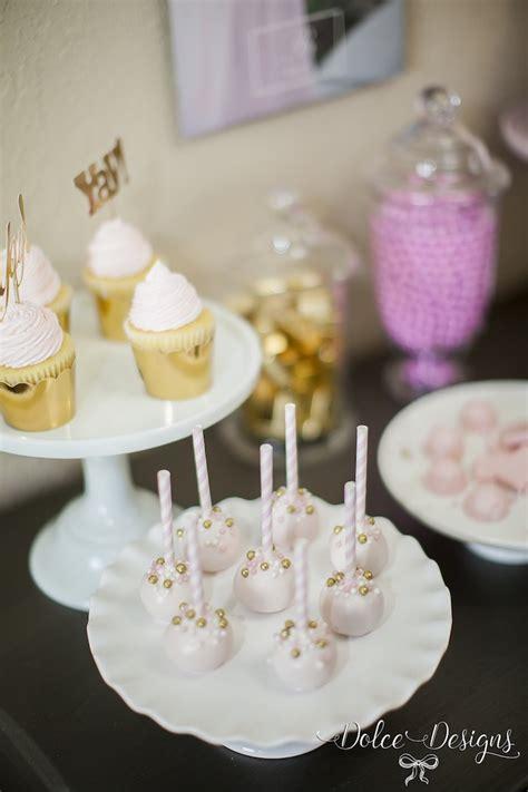 kara s party ideas modern pink gold birthday party
