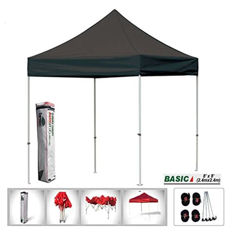 eurmax pop up canopy eurmax basic 8x8 pop up canopy instant canopy outdoor tent