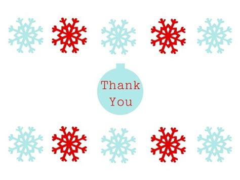 8 best images of free printable thank you posters free christmas thank you cards make your