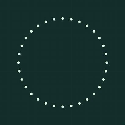 Circle Loop Dots Math Geometric Transformation Abstract