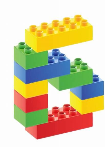 Lego Duplo Block Clipart Legos Transparent Number