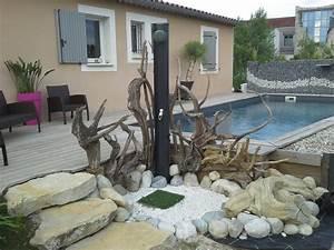 Deco jardin bois flotte for Decoration pour jardin exterieur 8 decoration escalier bois