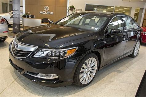 2014 acura rlx on display at smail acura in greensburg