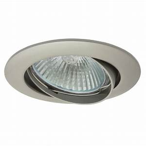 Kanlux ceiling lighting point fitting in pearl nickel