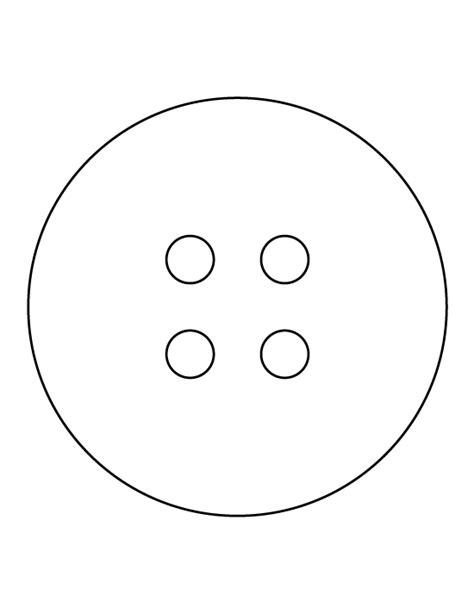 Button Template Printable Button Template