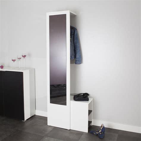 cuisine moderne blanc laqué symbiosis vestiaire blanc meuble chaussures symbiosis