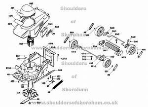 Qualcast Cobra 32 Mains F016 L80 858 Spares And Spare Parts