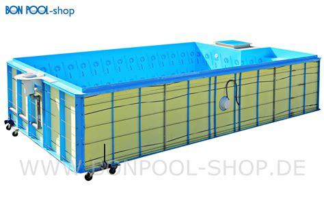 Pool Set by Bon Pool Infinity Pool Set Mittelblau 700x330 Tiefe 150