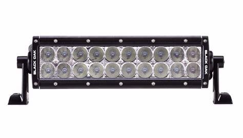 10 inch dual row led light bar white leds