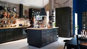 Cuisine Style Industriel Ikea : ikea cuisine plan travail une grande vari t de choix ~ Melissatoandfro.com Idées de Décoration