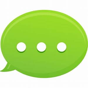 Bubble Text Message Icon | Pretty Office 13 Iconset ...