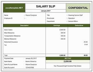 payslip formats letter of release template With driver salary receipt template india