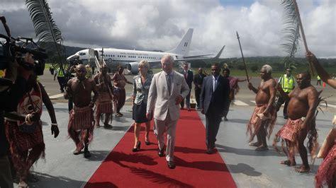 prince charles  high chief  visit  vanuatu