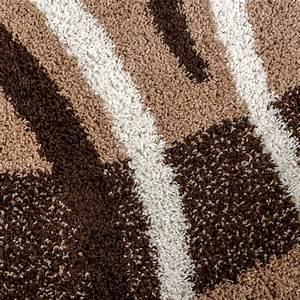 Hochflor Teppich Braun : moderner hochflor teppich shaggy vigo gemustert in braun beige creme top preis hochflor teppich ~ Orissabook.com Haus und Dekorationen