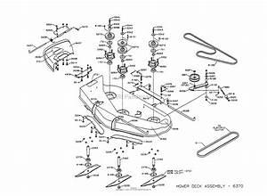 Dixon Ztr 5423  1997  Parts Diagram For Mower Deck Assembly
