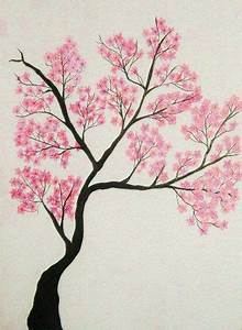 Cherry tree, Tree drawings and Drawings on Pinterest