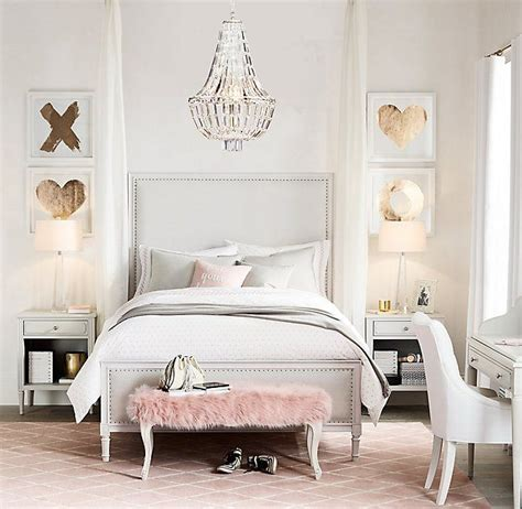 Glam Bedroom by Bedroom Decor Glam Blush Pink Pastels Cool Chic