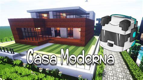 casa como como hacer una casa moderna en minecraft