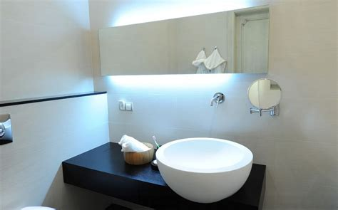 led lights behind bathroom mirror how to pick a modern bathroom mirror with lights