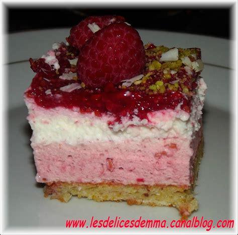 dessert reveillon du 31 2eme dessert du r 233 veillon bavarois framboises pistache et chocolat blanc les d 233 lices d