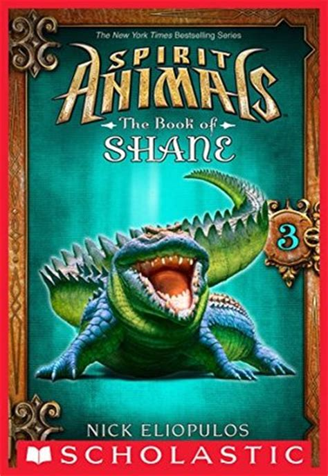 spirit animals  book  shane   nick eliopulos