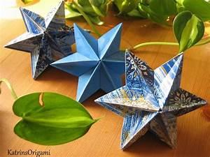 Sterne Aus Papier Falten : 25 einzigartige origami stern anleitung ideen auf pinterest origami weihnachtsbaum origami ~ Buech-reservation.com Haus und Dekorationen
