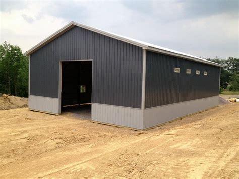 pole barn kits for sale at menards pole barn garage kits 101 metal building homes