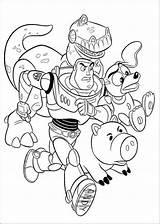 Coloring Toy Hamm Slinky Rez Cartoon Dog Doghousemusic Disney Drawing sketch template
