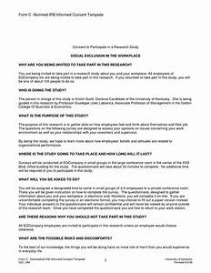 Best photos of psychotherapy informed consent template for Irb informed consent template