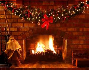 Christmas Fireplace | From the Pen of Mae Clair