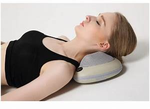 electric back head body shoulder shiatsu car neck massage With best neck massage pillow