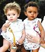 英國黑白雙胞胎 喜慶一周歲生日 --科技--人民網