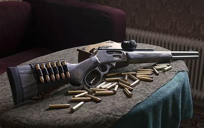 Marlin Rifle Jurassic Gun Action 1895 Lever